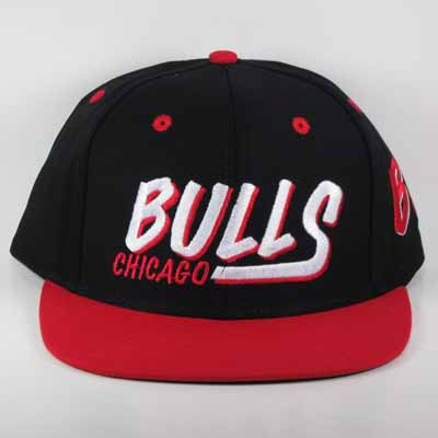 Chicago Bulls Custom Snapback Cap