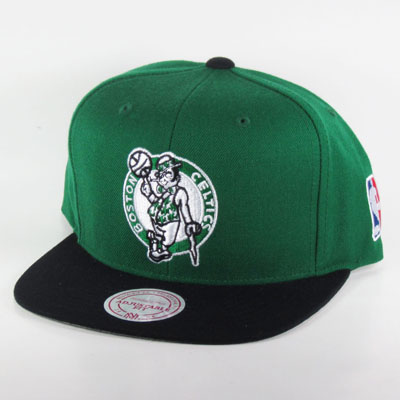 Boston Celtics Mitchell & Ness Snapback