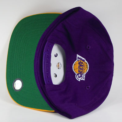 LA Lakers Snapback Cap Purple