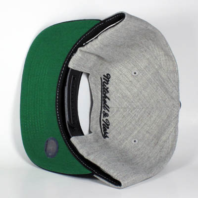 Chicago Bulls Gray Mitchell & Ness Snapback
