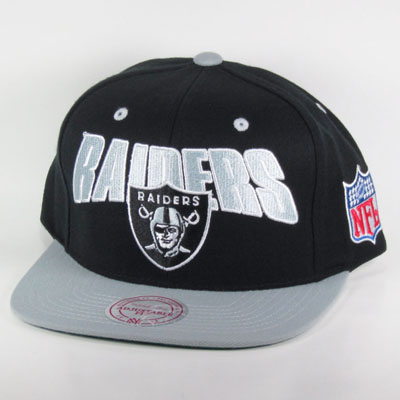 Los Angeles Raiders Snapback Mitchell And Ness Los Angeles Raiders Mitchell