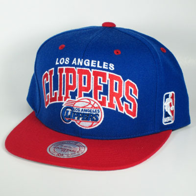 LA Clippers Blue Mitchell & Ness Snapback