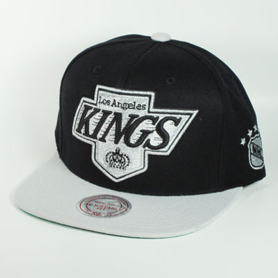 Los Angeles Kings Big Logo Mitchell & Ness  Snapback