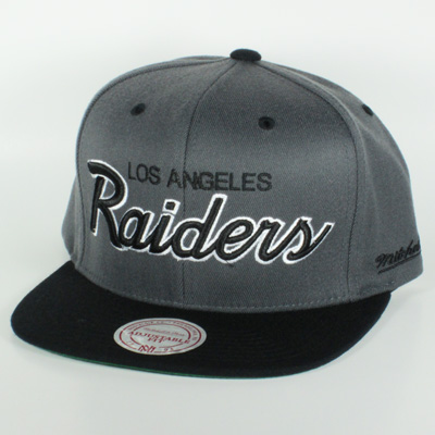 Los Angeles Raiders Mitchell & Ness  Snapback