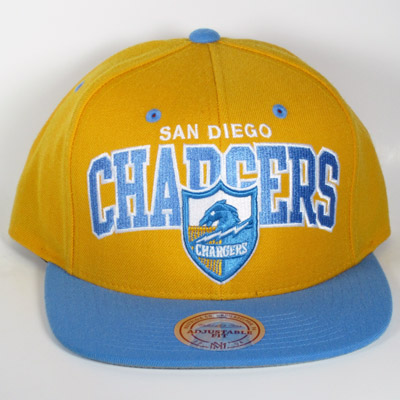San Diego Chargers Mitchell & Ness Snapback