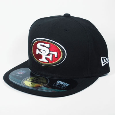 San Francisco 49ers New Era 59Fifty Black