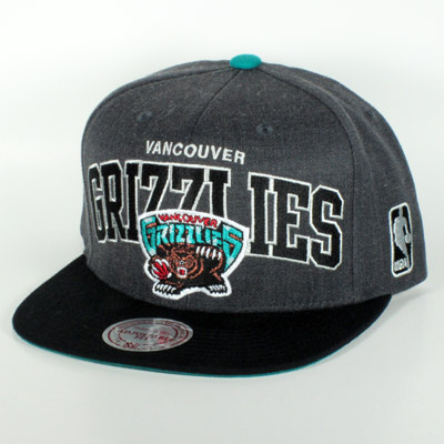 Vancouver Grizzlies Gray Mitchell & Ness Snapback